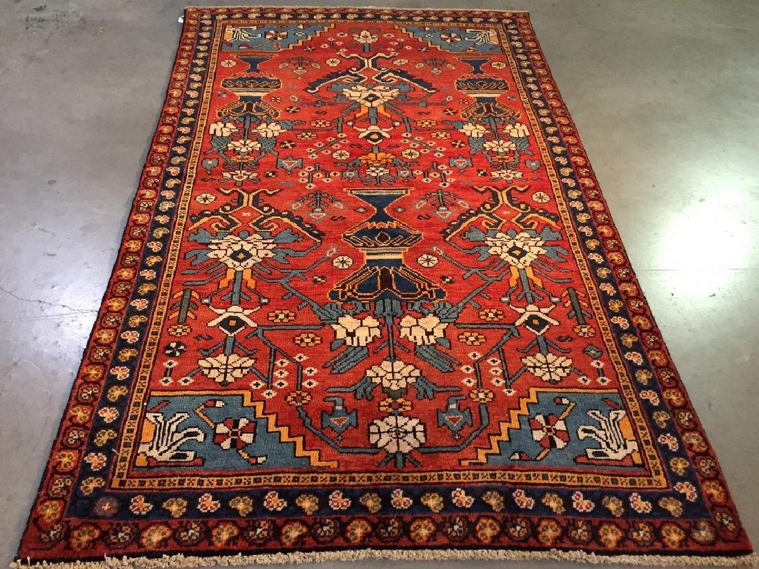 Persian Shiraz Rug 4.9x6.6