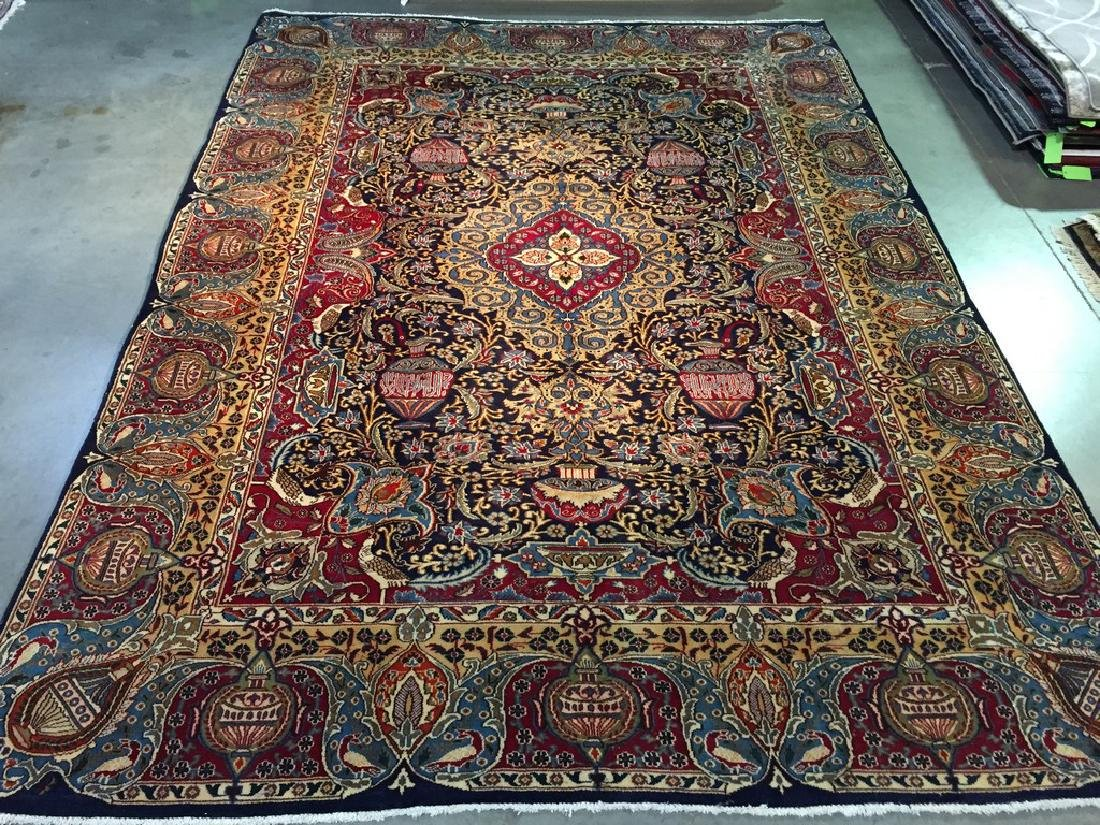 Authentic Persian Kashmar Masterpiece Rug 9.4x12.10