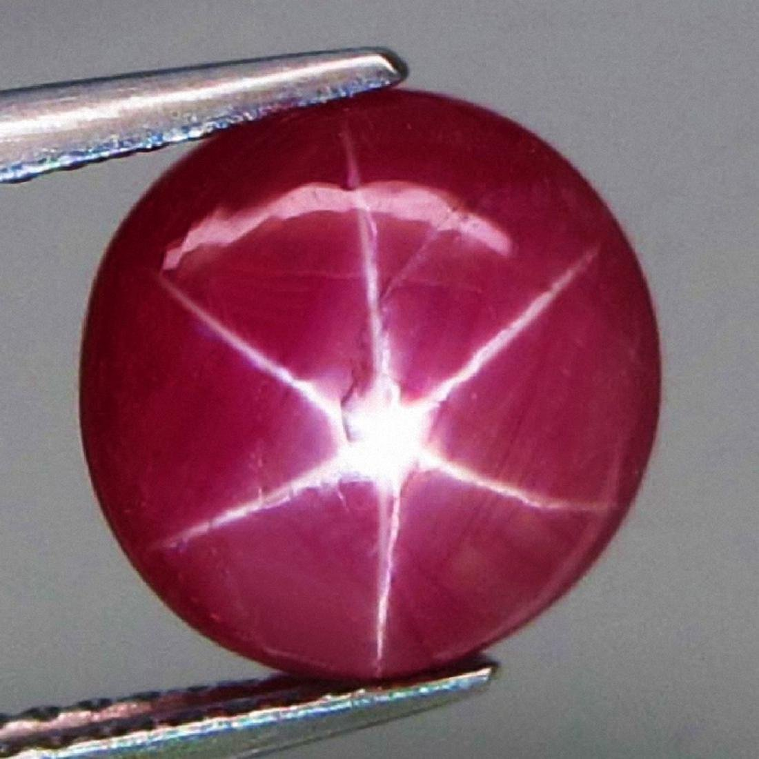 Star Ruby of 4.53ct.