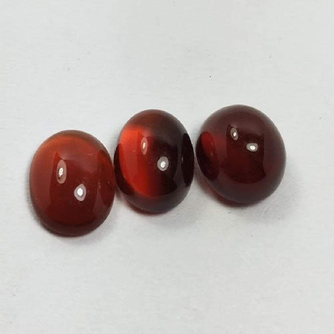 2.65 CTS NATURAL HESSONITE OVAL CABOCHON
