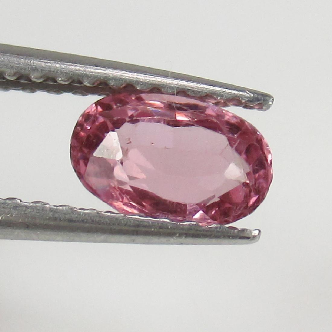 0.73 Ct IGI Certified Pyrope Pink Rhodolite Garnet