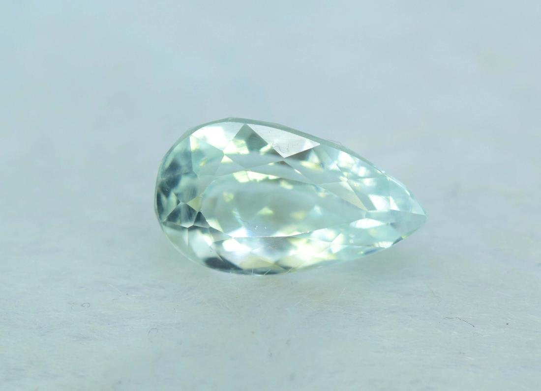 natural aquamarine loose gemstone