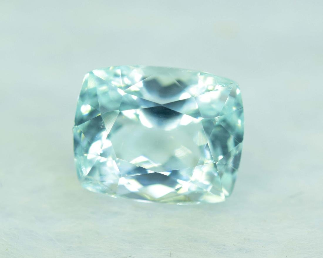 5.75 cts aquamarine loose gemstone