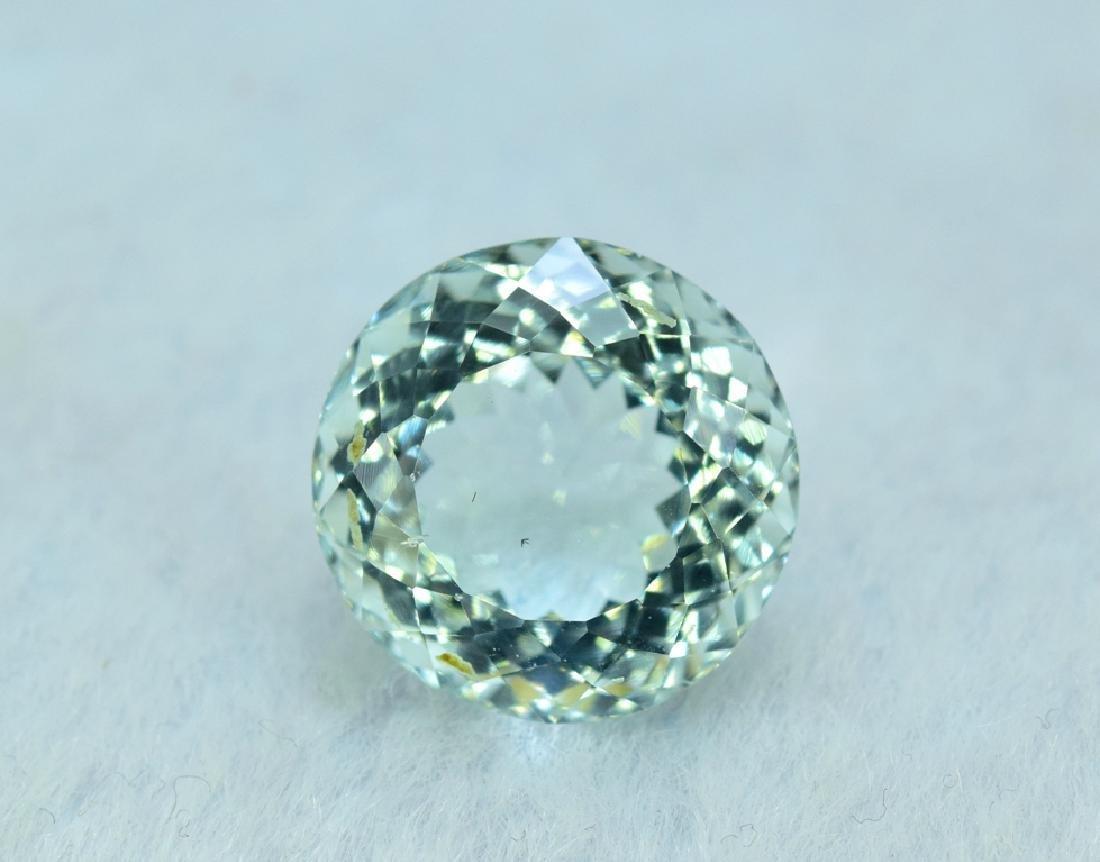 9.97 cts aquamarine certified loose Gemstone