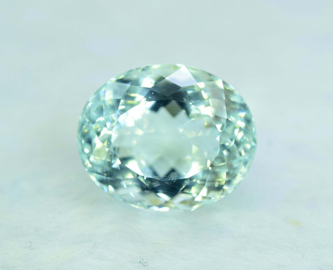 11.11 cts aquamarine certified loose Gemstone