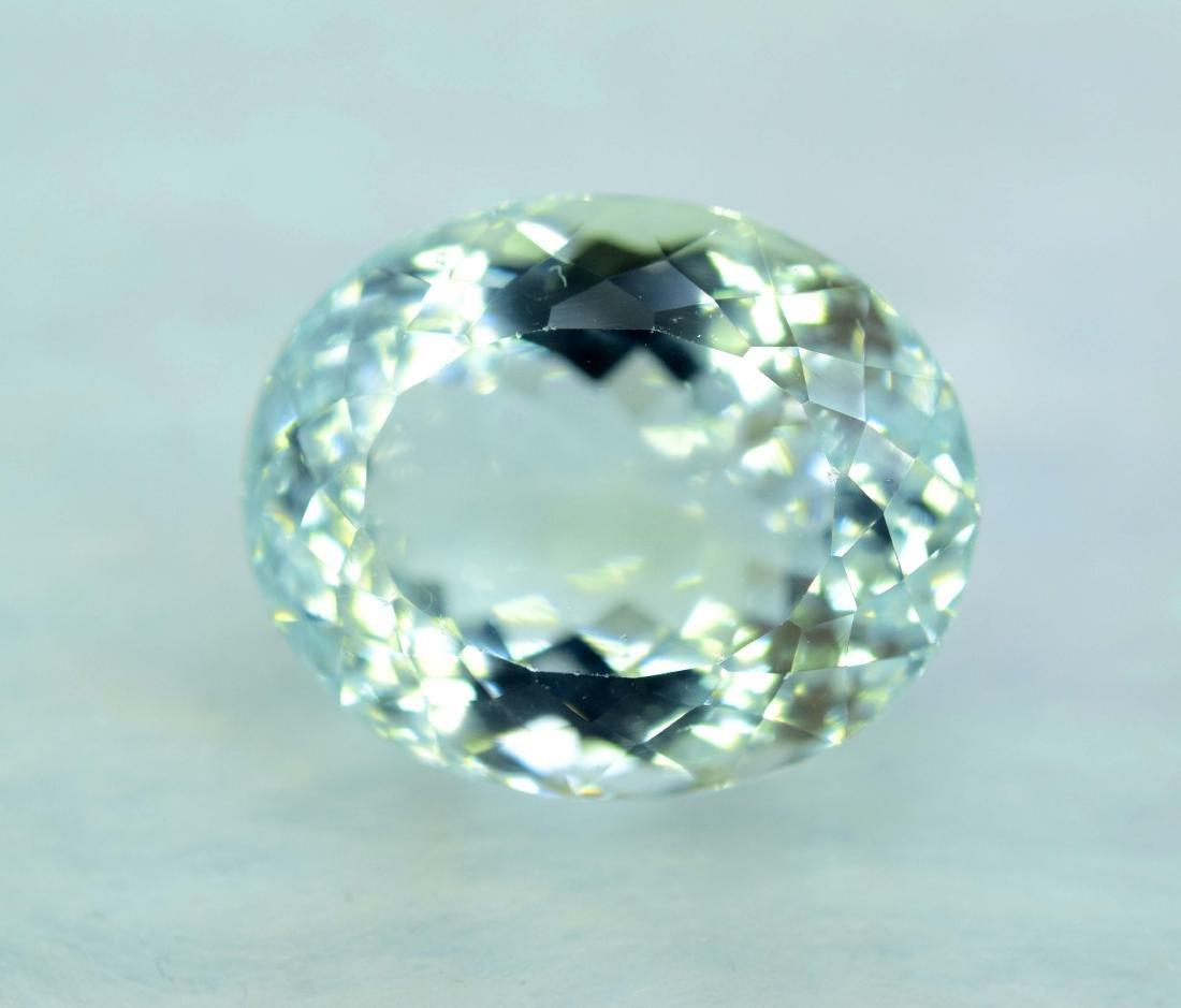 12.97 cts aquamarine certified loose Gemstone