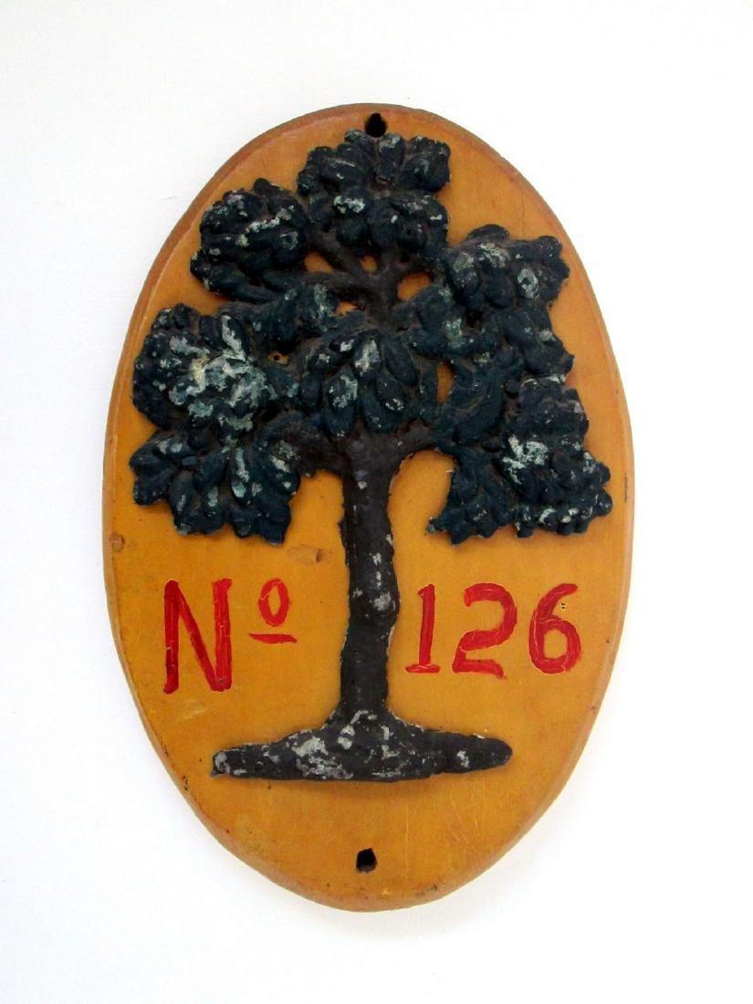 19th Century Fire Mark