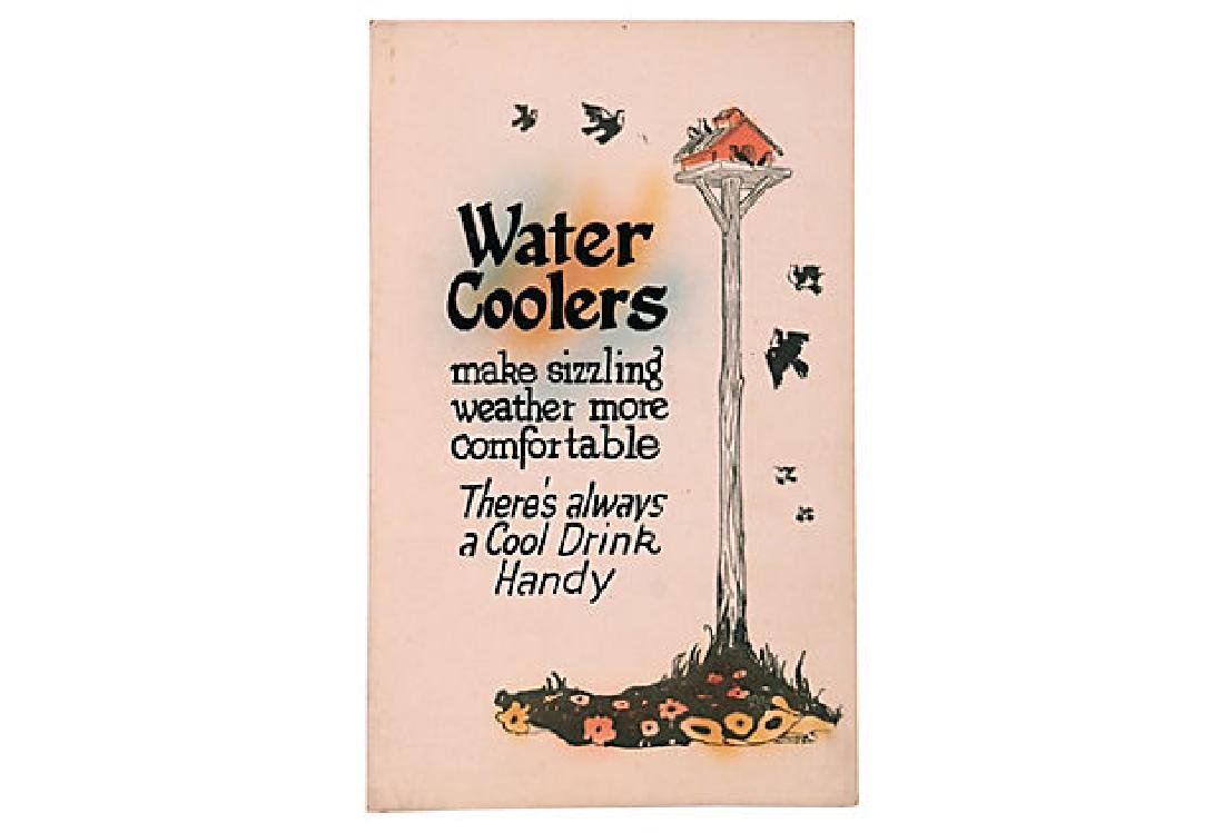 Water Coolers Sign