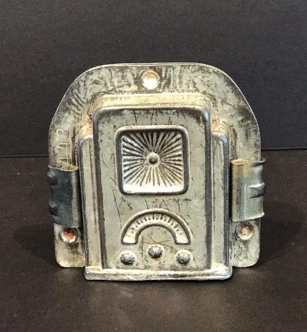 Radio Chocolate Mold, Early 20th Century