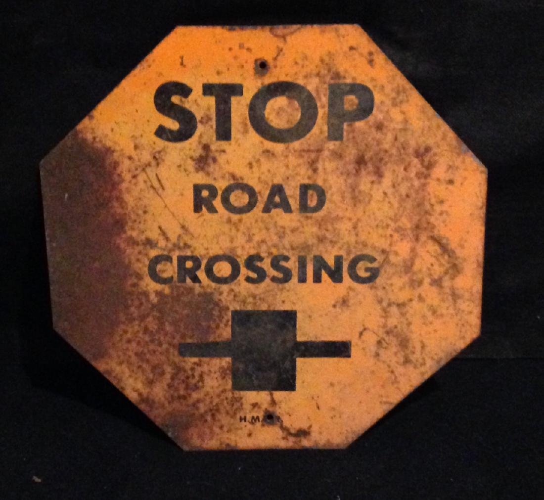 1940s Stop Sign