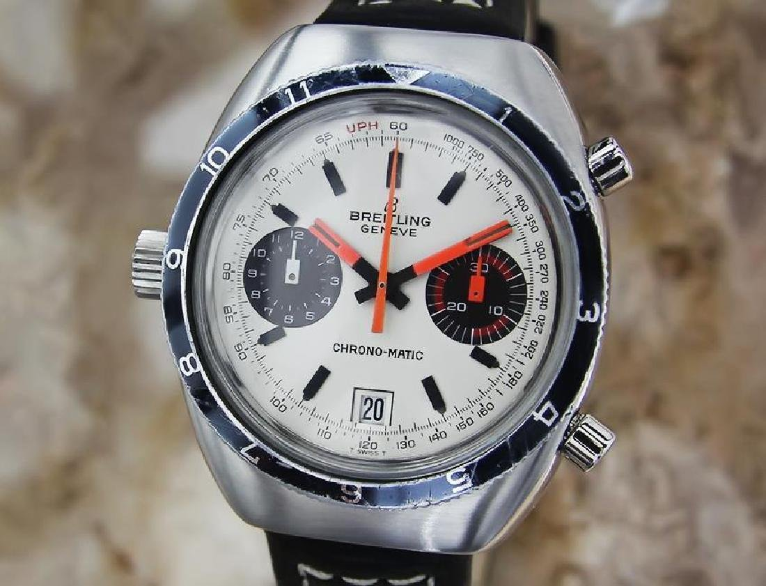 Breitling 1969 Chronomatic Swiss Made Mens Automatic