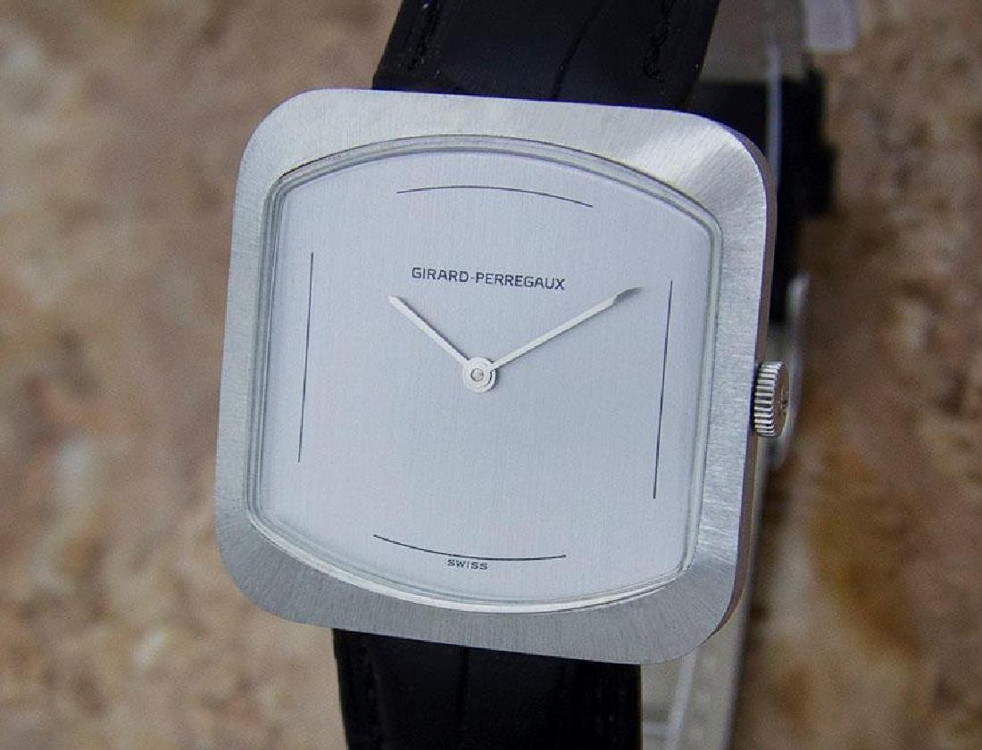 Girard Perregaux Swiss Made 1970s Mens Manual Stainless