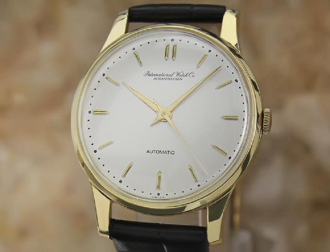 IWC International Watch Co 18k Gold 1960's Automatic