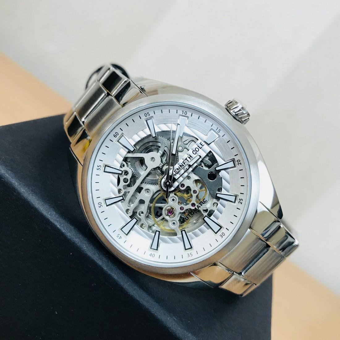 Kenneth Cole – Men's Automatic Skeleton Display Watch