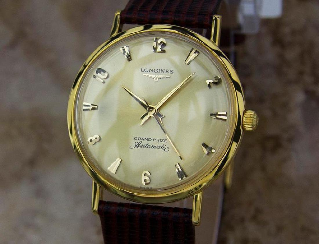Longines Grand Prize Swiss Made Gold Filled Mens 1960