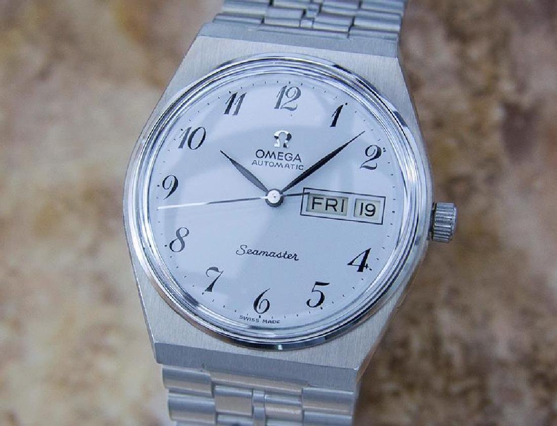 Omega Seamaster Cal 1020 Swiss Made Automatic Stainless