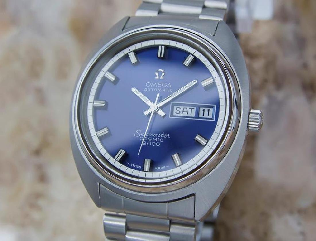 Omega Seamaster Cosmic 2000 Mens Automatic Stainless