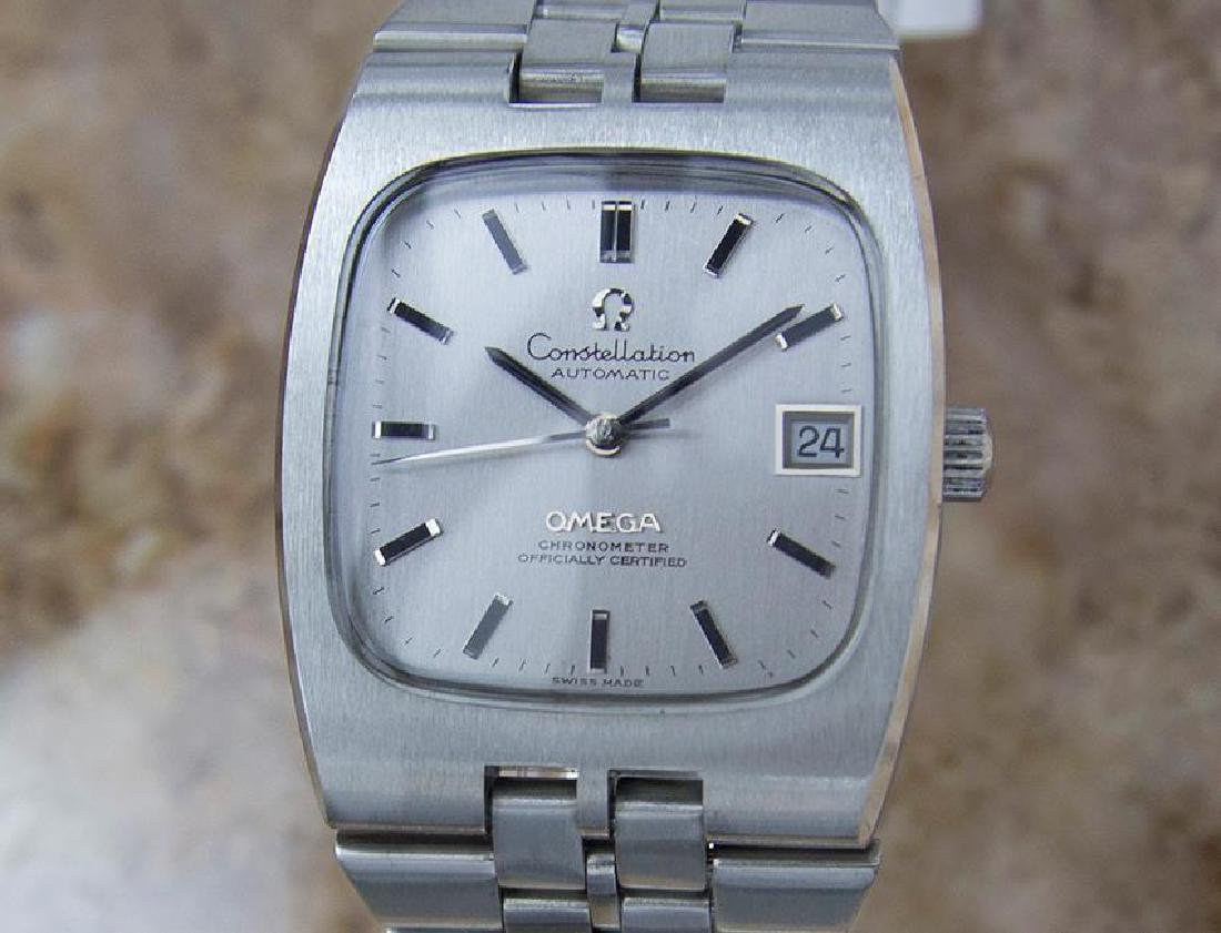 Omega Constellation 1970s Chronometer 34mm Auto