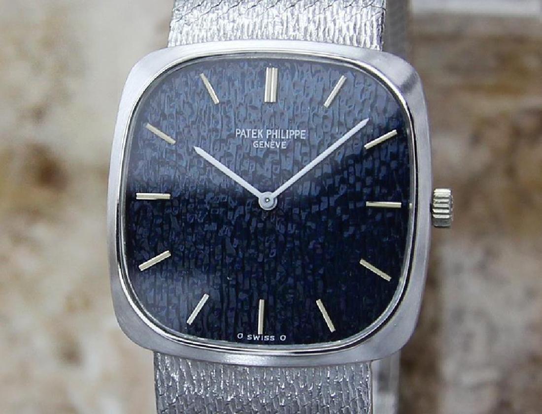 Patek Philippe 18k White Gold 1970 Unisex Swiss Made