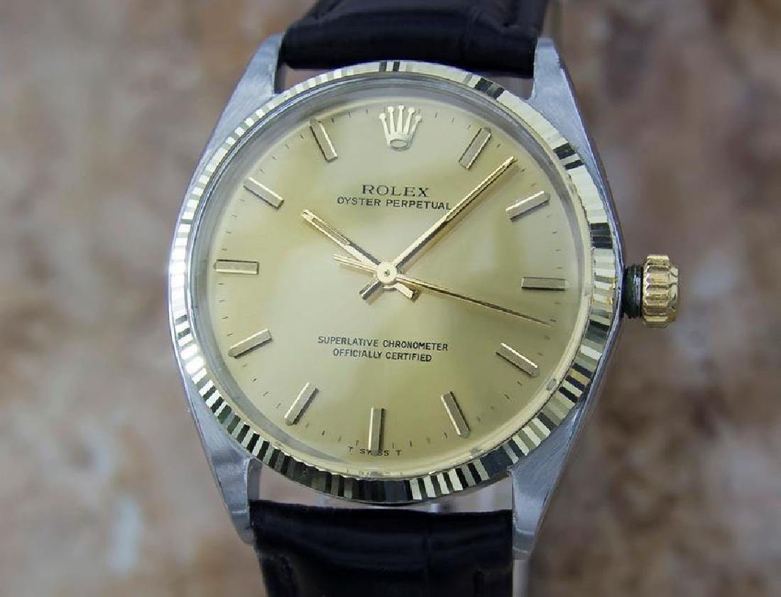 Rolex 1002 Swiss Made Automatic Men's 1969 Stainless