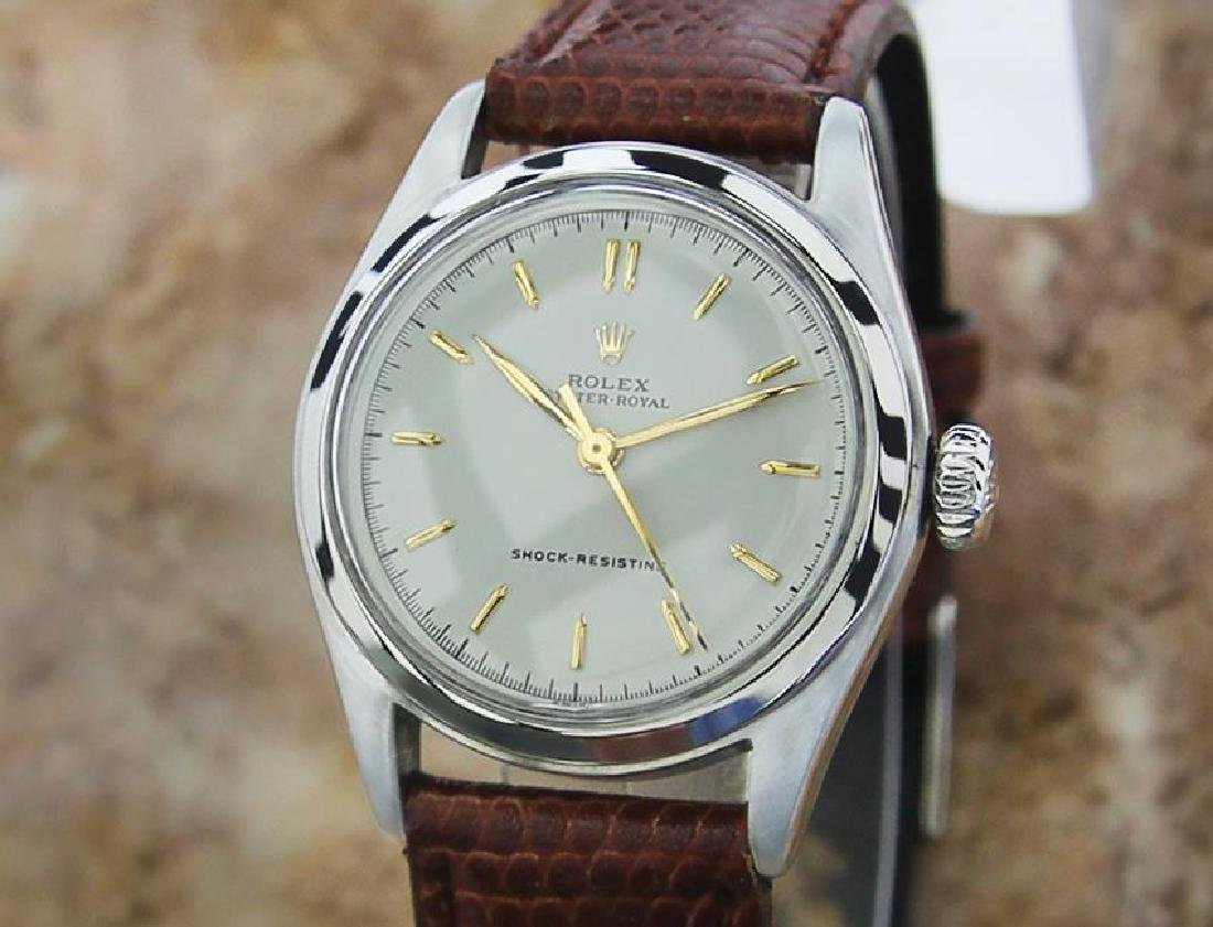 Rolex 1950s Oyster Royal Mid Sized 31mm Manual Wind