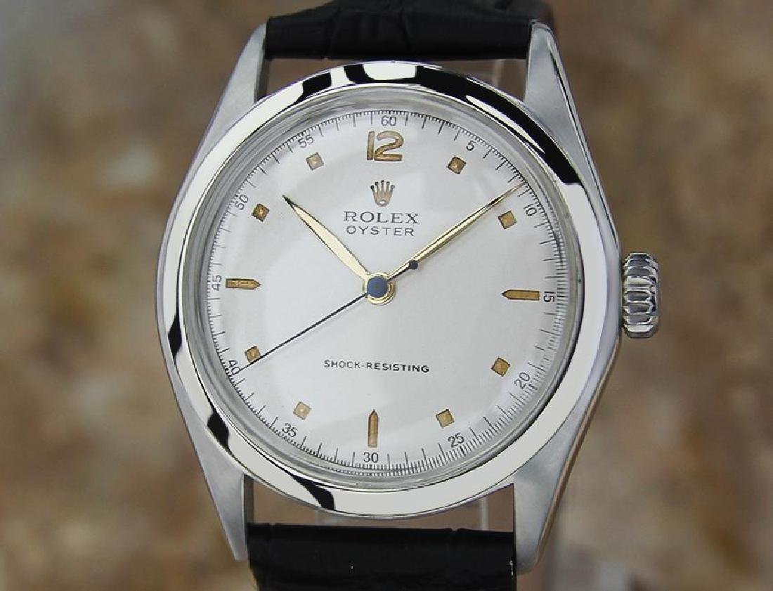 Rolex 4499 1945 Oyster Mid Sized 33mm Manual Men's