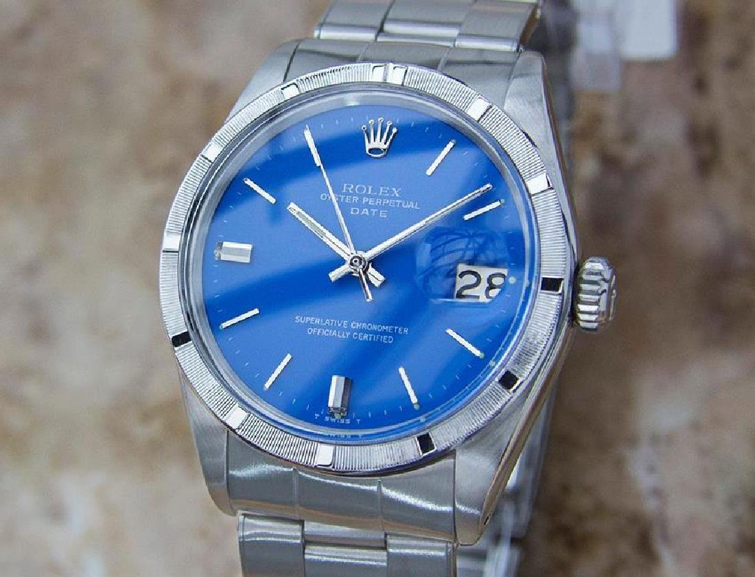 Rolex 1501 Swiss Made Men's 1965 Automatic Stainless