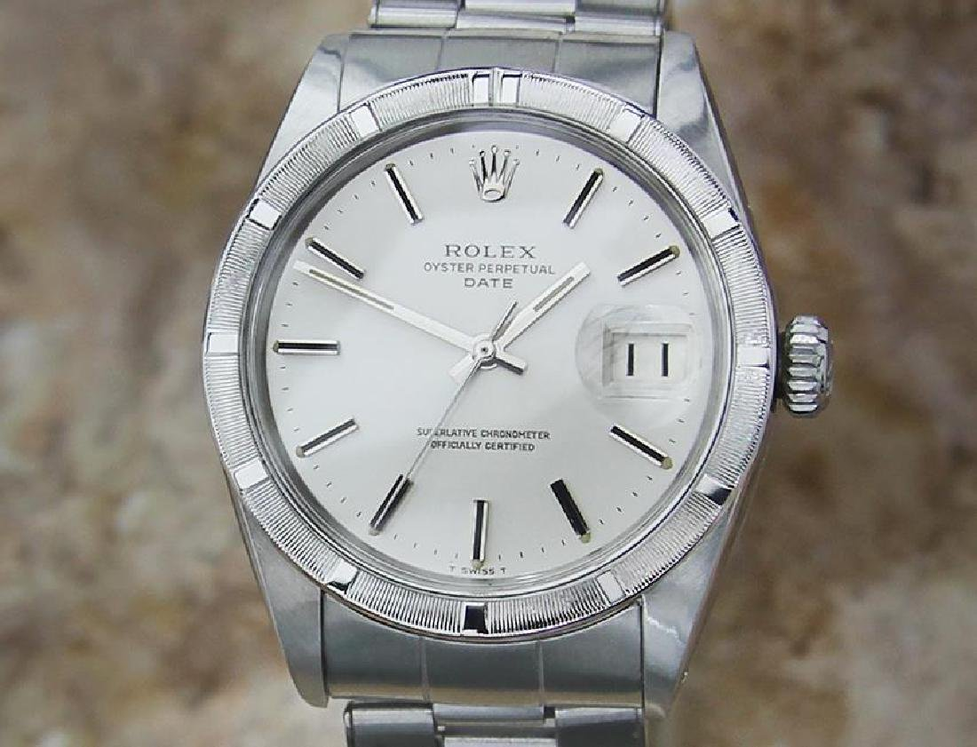 Rolex 1501 Swiss Made Automatic Mens 1966 w Original