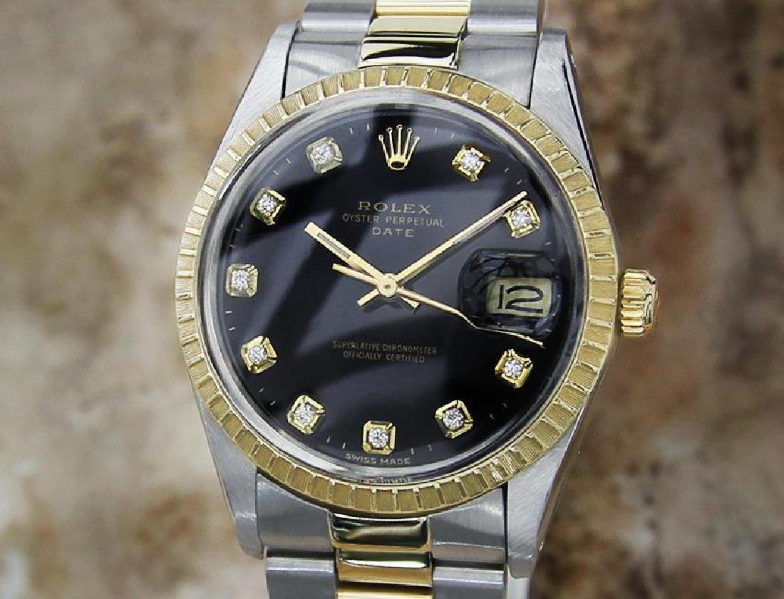 Rolex Ref 15053 Swiss Made Men's 18K Gold SS 7069612