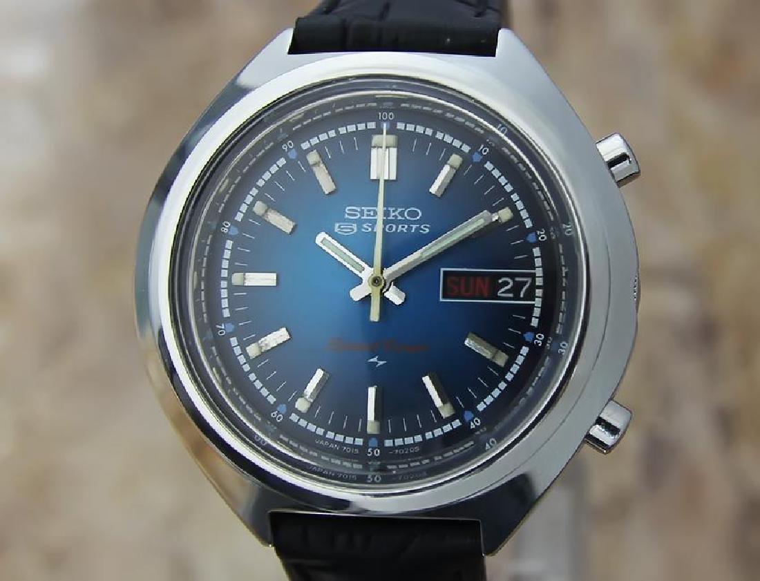Seiko Speedtimer 7015-7000 Chronograph Vintage 39mm