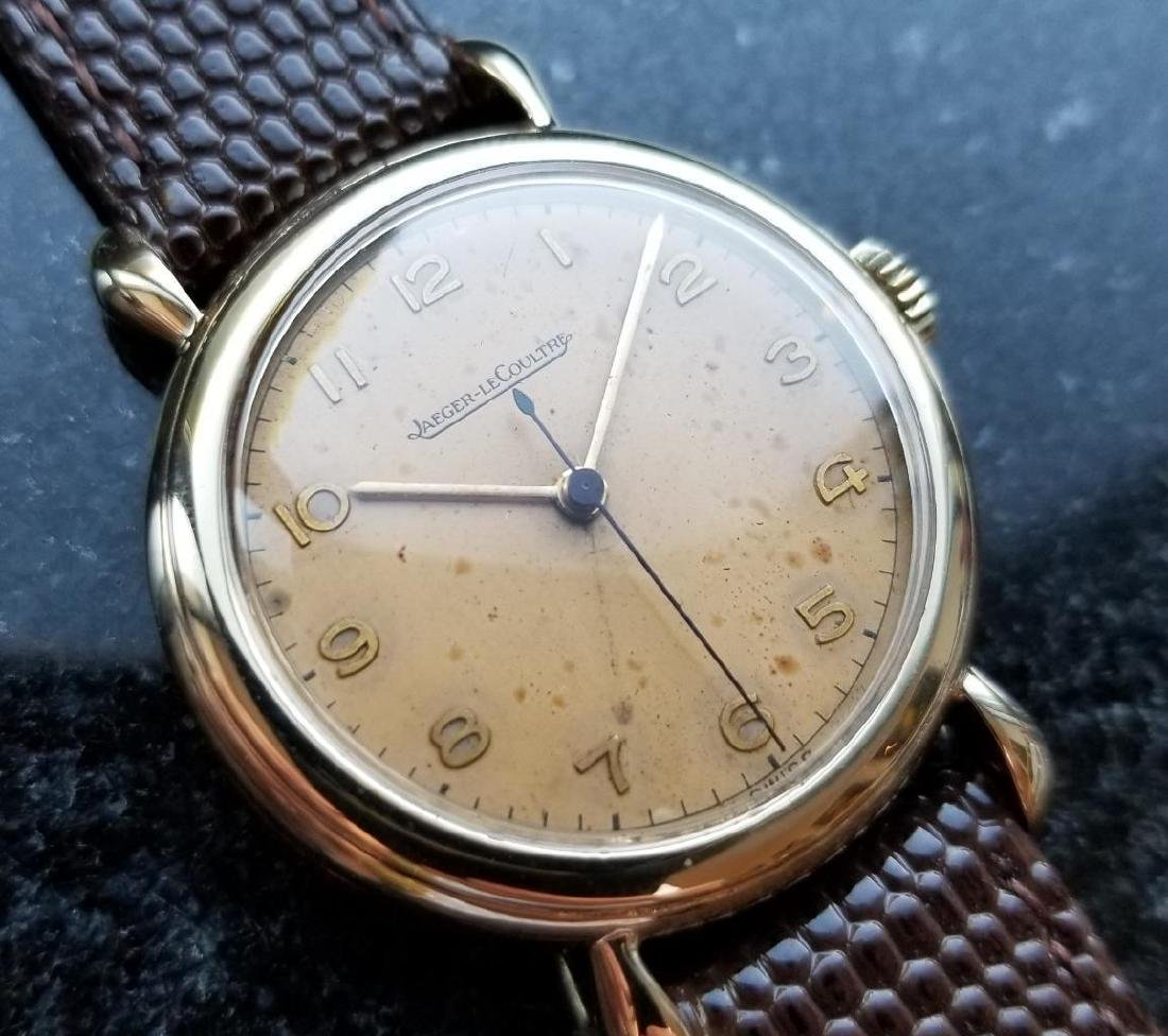 Jaeger LeCoultre Solid Gold 33mm Swiss 1950s Manual