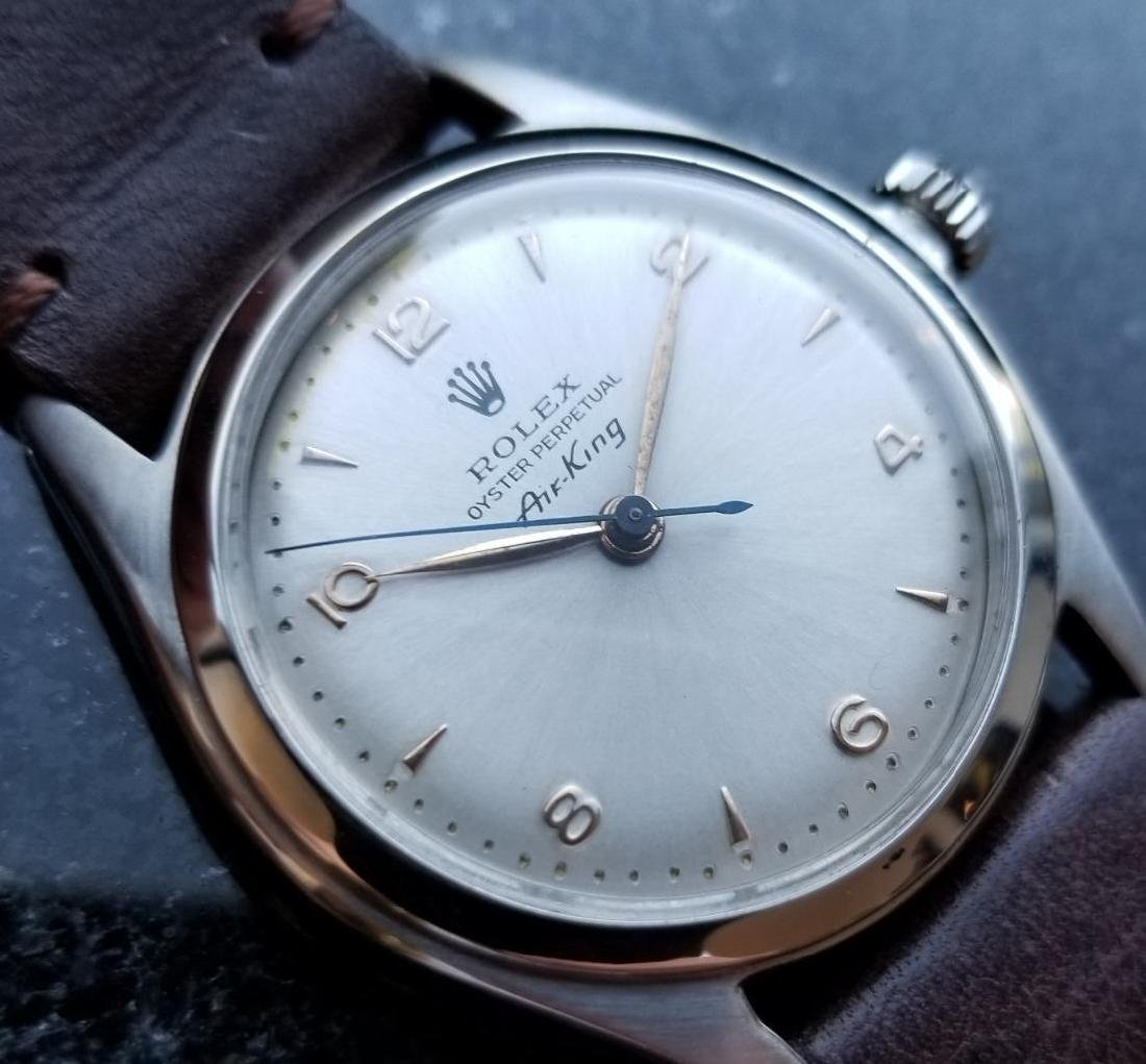 Rolex Vintage Air King Oyster Perpetual 4925 Manual
