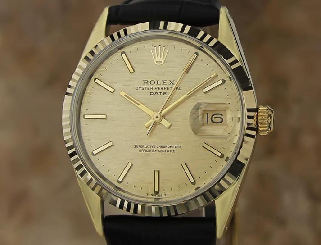 Rolex 1550 Swiss Made Men's 34mm 1970 Ser 3125351