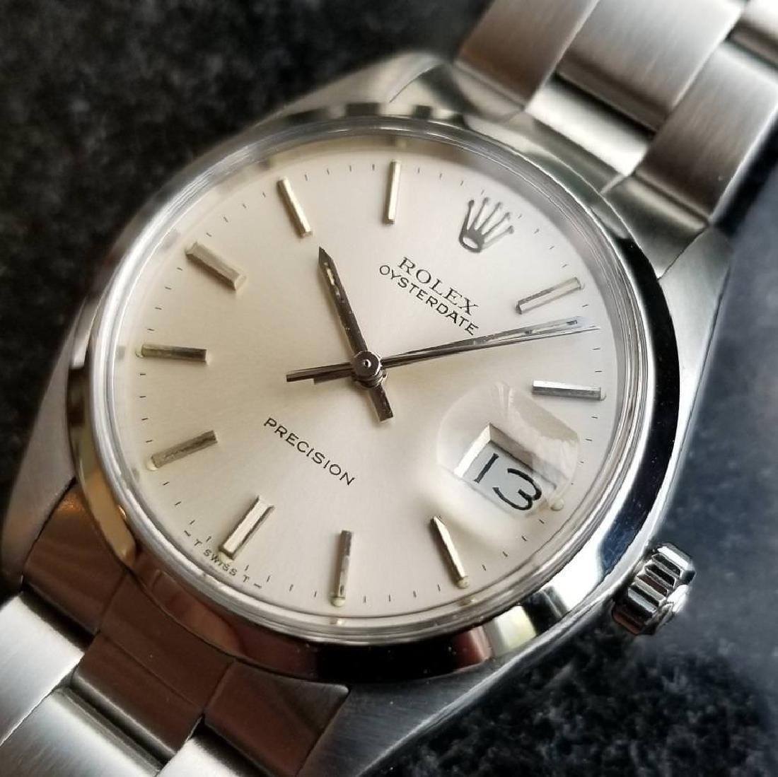 Vintage 1981 Rolex 6694 Oysterdate Precision Manual