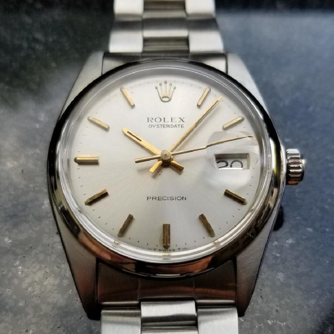 Rolex Oysterdate Precision Vintage 6694 Manual 1973