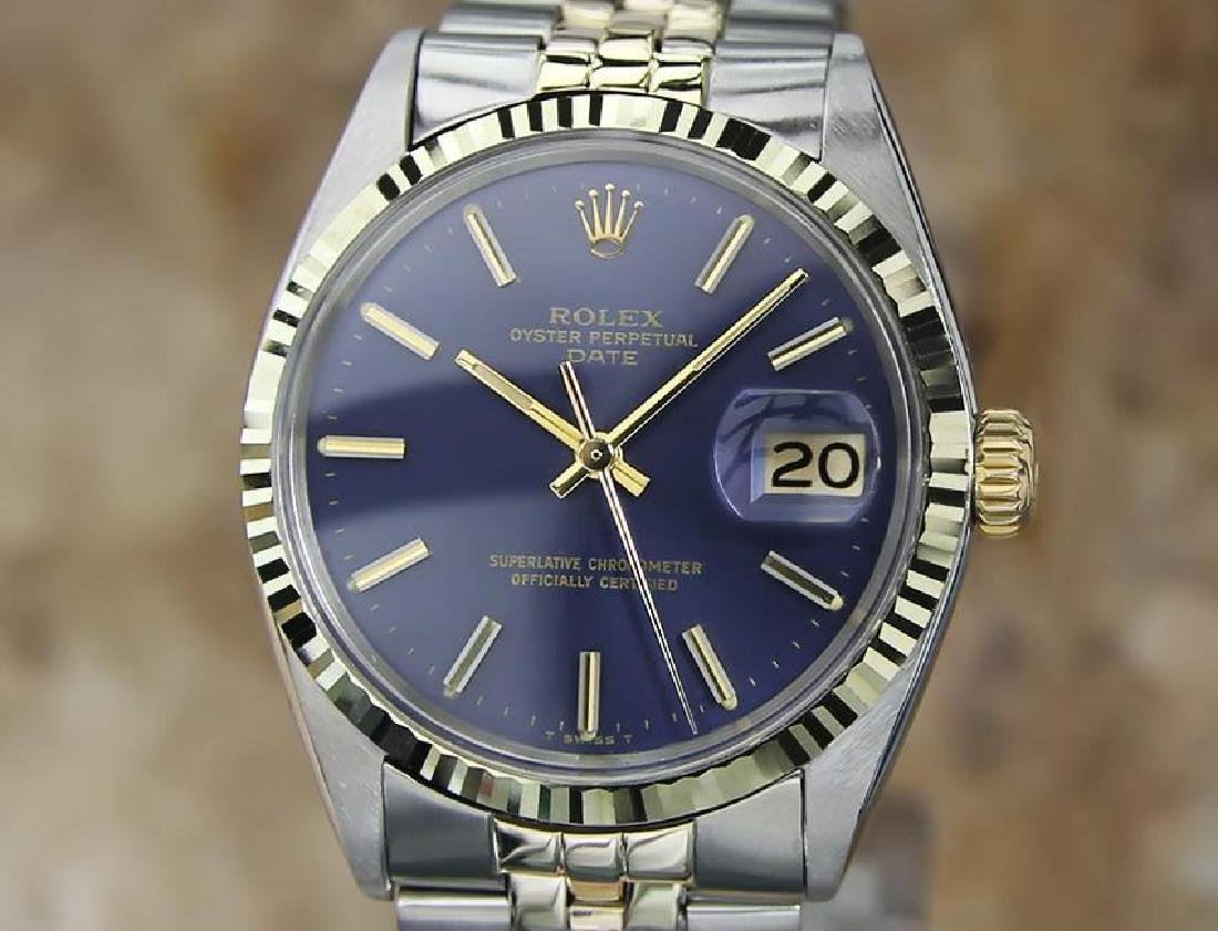 Rolex Oyster 1500 Automatic 34mm Men's Gold and SS 1966