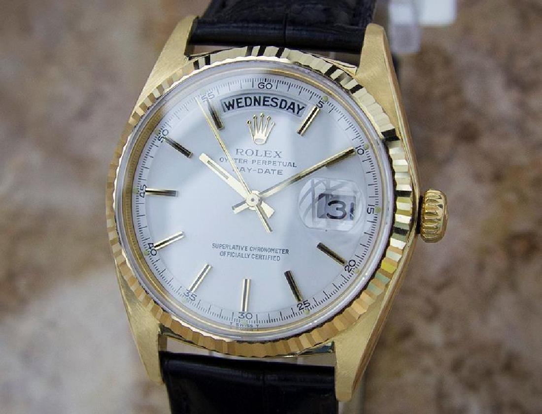 Rolex Mens 1974 Rare President 1803 Swiss Made 18k Gold