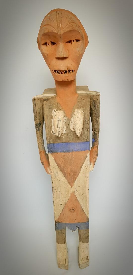 Funerary Figurine Ngata D.R. Congo (98 Cm)