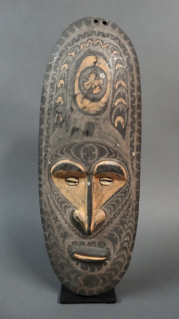 Ceremonial Ancestor Wall Mask Sepik