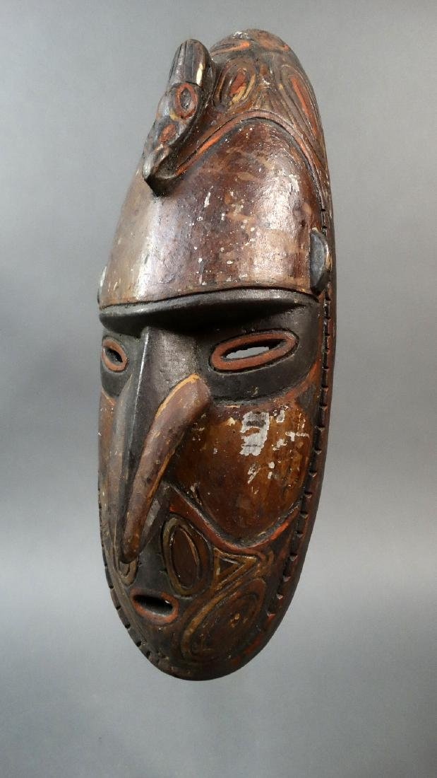 Old and Important Dance Mask Sepik River Area