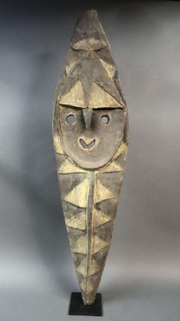 Large & Heavy Kwoma Mindja Ancestor Figure East Sepik