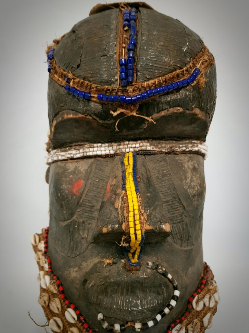 African Bwoom Royal Mask Kuba D.R. Congo