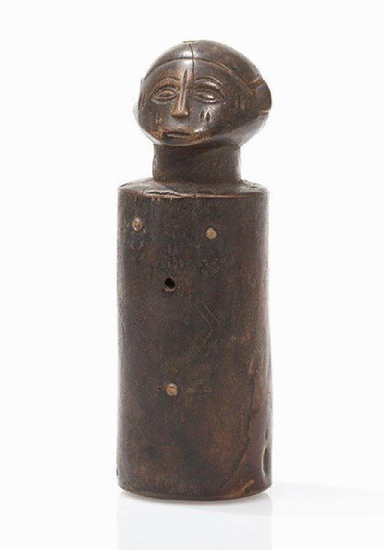 Tabwa or Rungu /lungu Doll, (twin Figure) Congo