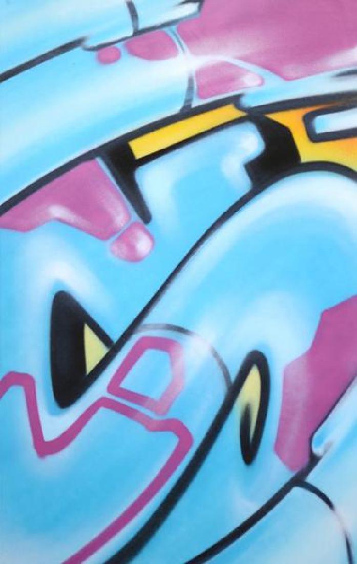 GRAFFITI ARTIST SEEN - Spray Paint on art paper