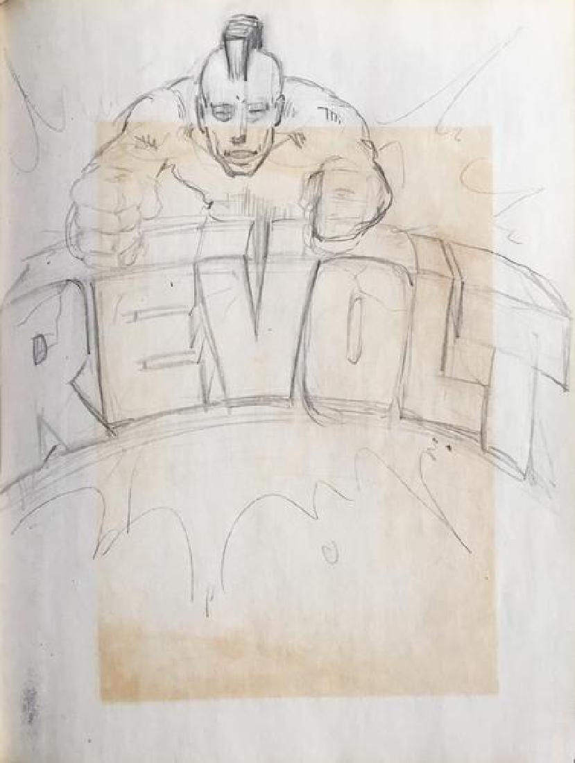 REVOLT- Revolt preliminary sketch