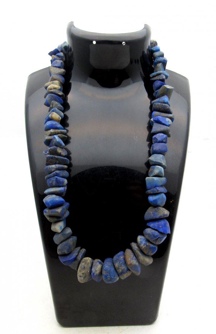 Ancient Lapis Lazuli beaded Necklace