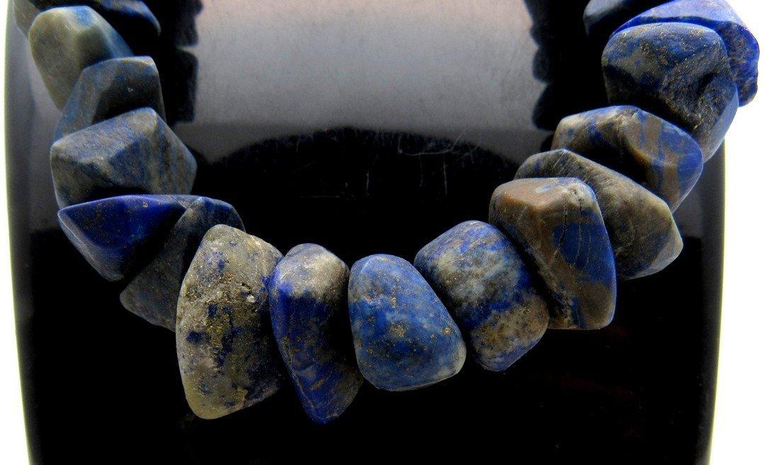 Ancient Lapis Lazuli beaded Necklace - 3