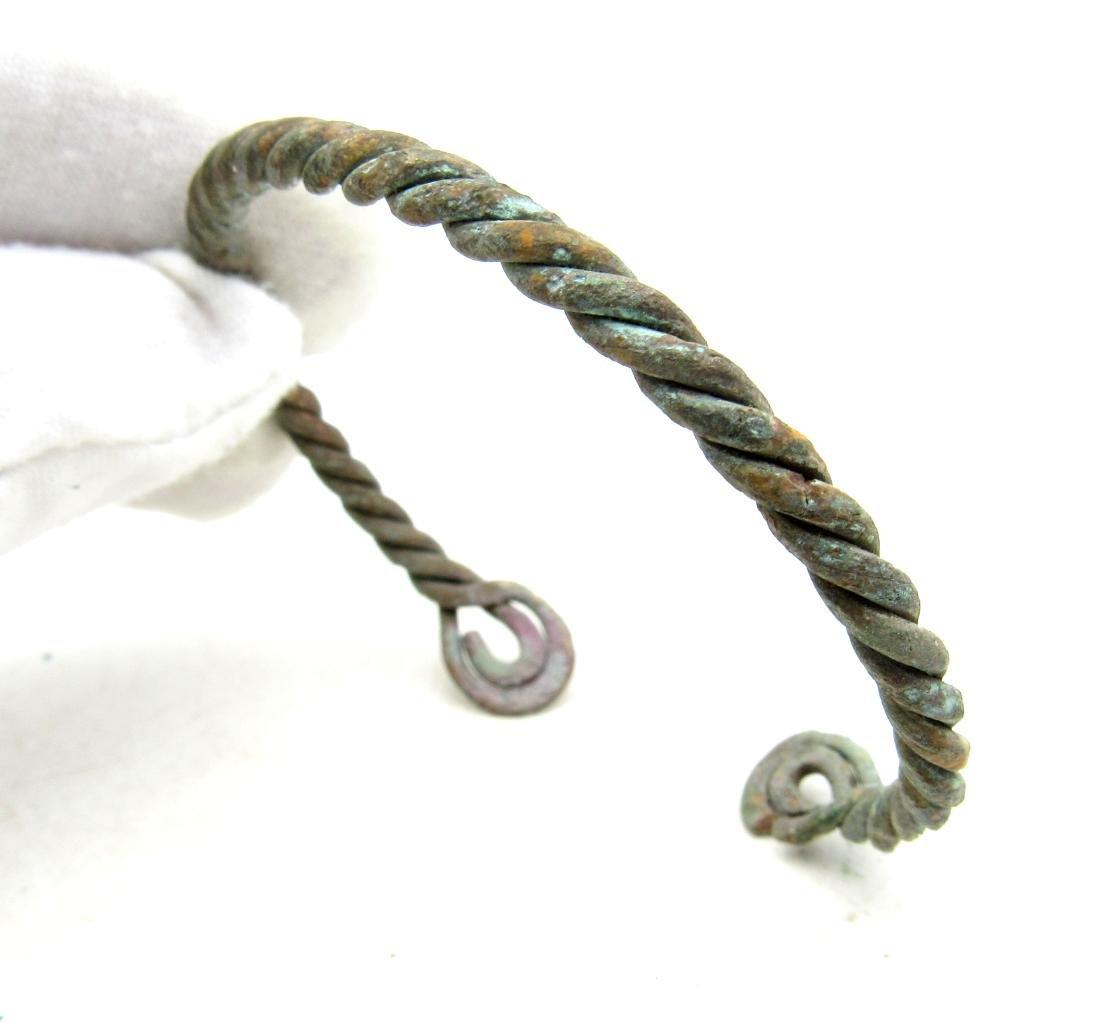 """Viking Twisted """"Fielty Ring"""" Bracelet"""