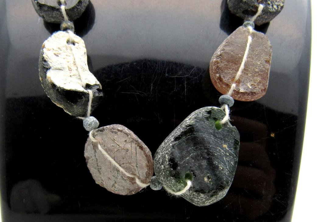 Roman Glass fragment Necklace - 3