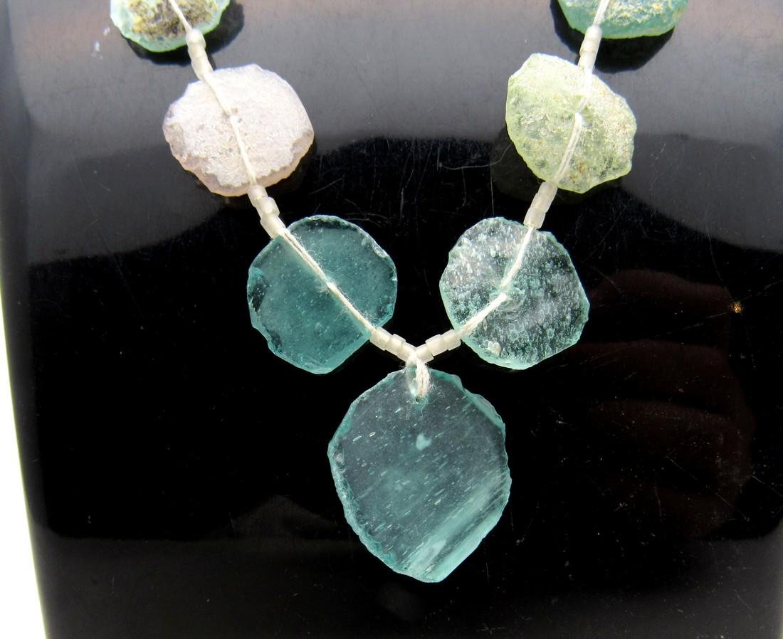 Roman Glass fragment Necklace - 2